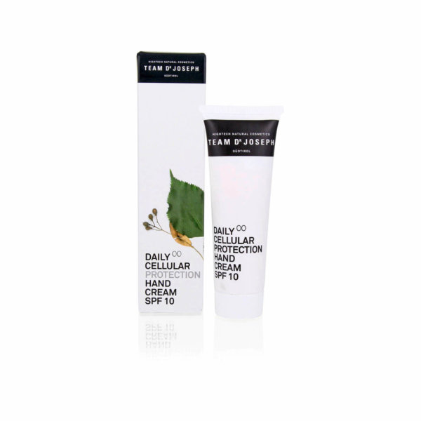 Team Dr. Joseph Daily Cellular Protection Hand Cream Spf 10 50 ml